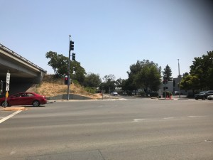 Accident Left Turn View (Aug. 18, 2017)