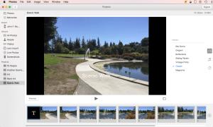 Selecting Slideshow Themes