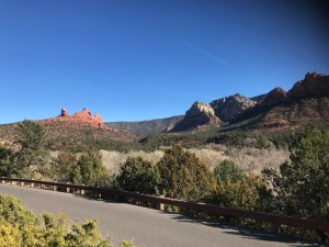 Mitten Ridge and Munds Mountain In Sedona