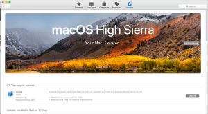 Unwanted Xcode Update with macOS High Sierra