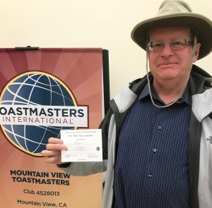 Best Table Topics at Mountain View Toastmasters