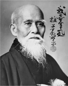 Morihei Ueshiba, oprichter van Aikido