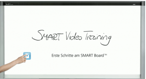 Einführungsvideo Smartboard Zum Betrachten des Videos auf das Bild klicken