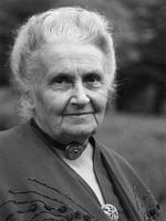 Porträt Maria Montessori