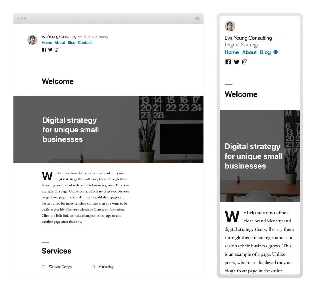Twenty Nineteen   WordPress org