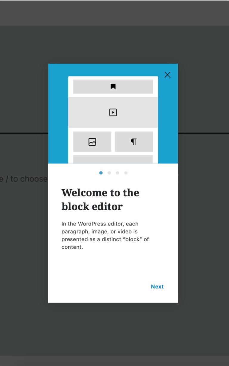 Gutenberg - Add New Post