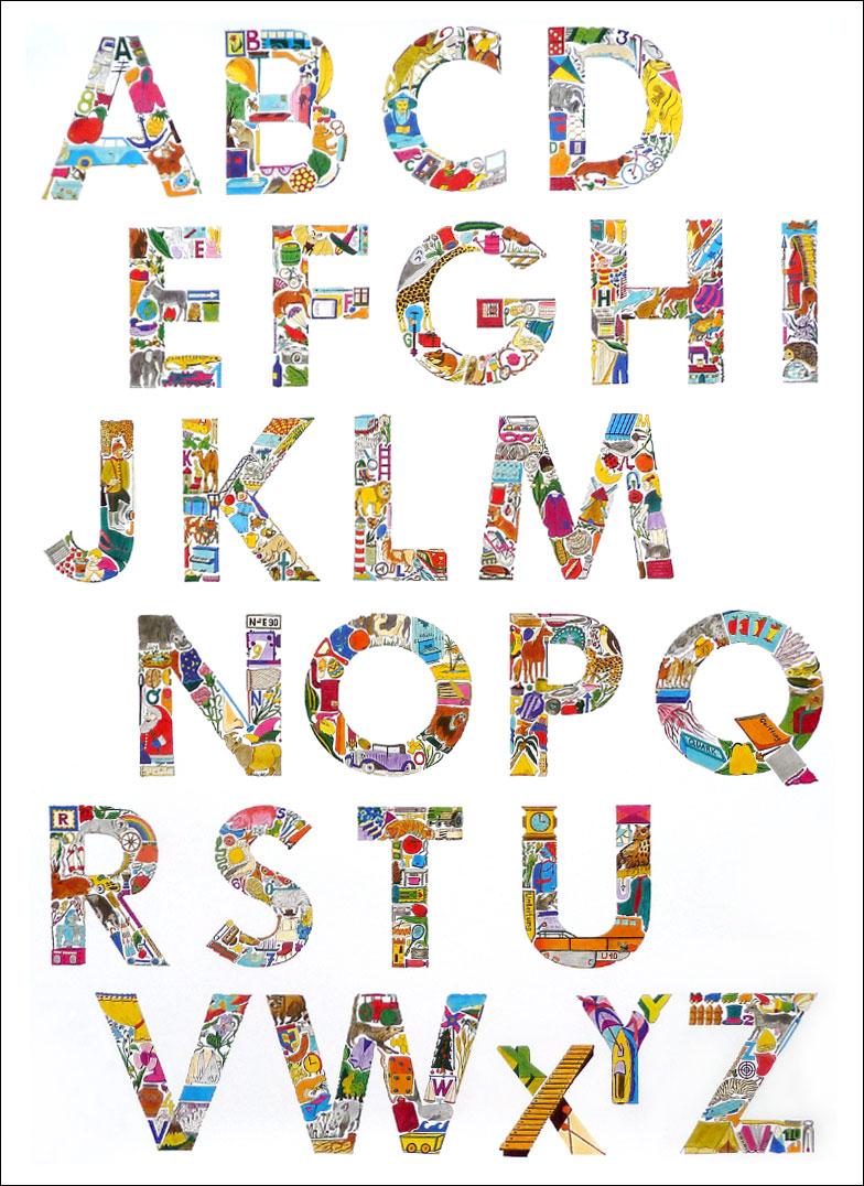 Das ABC-Poster – Das ABC-Plakat für Kinder, Eltern, Erzieher und ...
