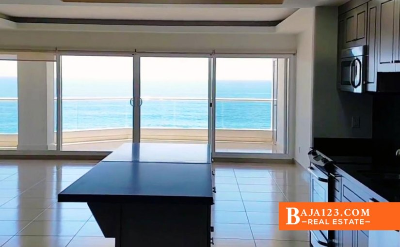 Rosarito Beach Oceanfront Condo For Sale In La Jolla Excellence – USD $295,000