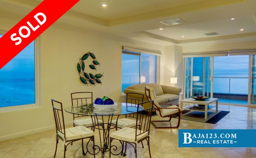 SOLD – Oceanfront Condo For Sale in Riviera de Rosarito, Playas de Rosarito