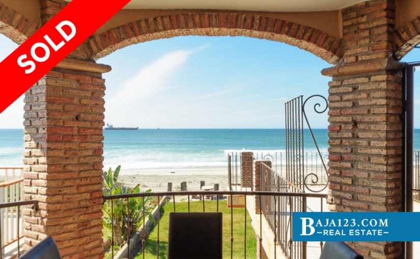 SOLD – Oceanfront Home for Sale in Ricamar, Playas de Rosarito – USD $470,000