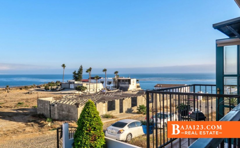 SALE PENDING – Ocean View Home For Sale in Cantiles Dorados, Rosarito Beach