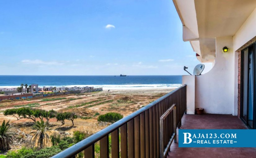 PRICE REDUCTION – Ocean View Condo For Sale in Quinta del Mar, Rosarito Beach
