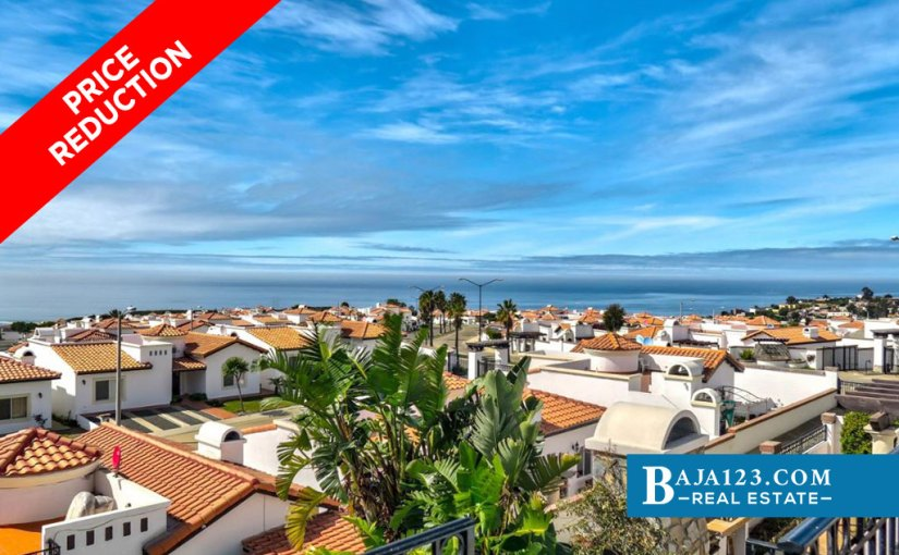 EXPIRED – Ocean View Home in Rancho Descanso, Playas de Rosarito – USD $199,500