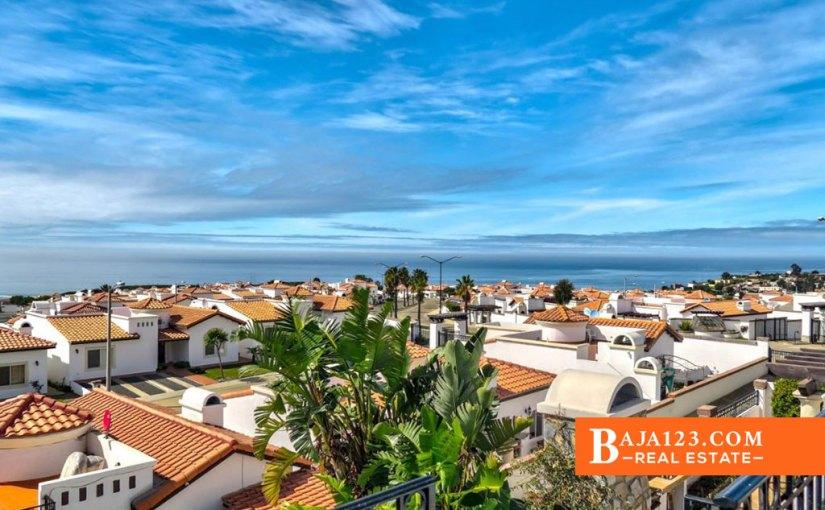 Ocean View Home in Rancho Descanso, Playas de Rosarito
