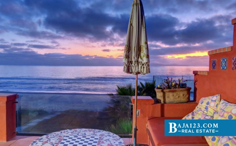 Oceanfront Home For Sale in Baja Malibu, Tijuana