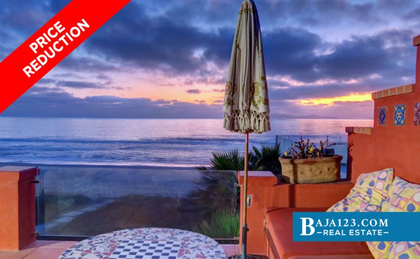 PRICE REDUCTION – Oceanfront Home For Sale in Baja Malibu, Tijuana
