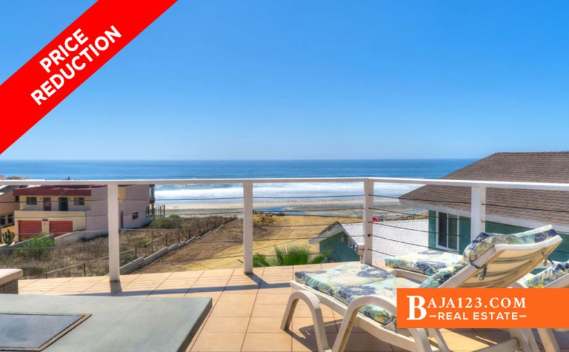 EXPIRED – Ocean View Home For Sale in Reforma, Playas de Rosarito – USD $284,900
