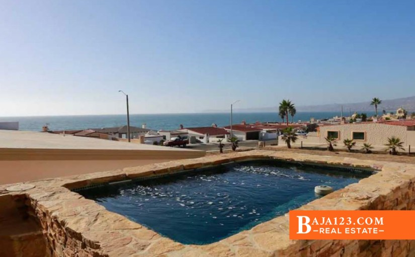 EXPIRED – Ocean View Home For Sale in Mision Viejo, Rosarito Beach – USD $399,000