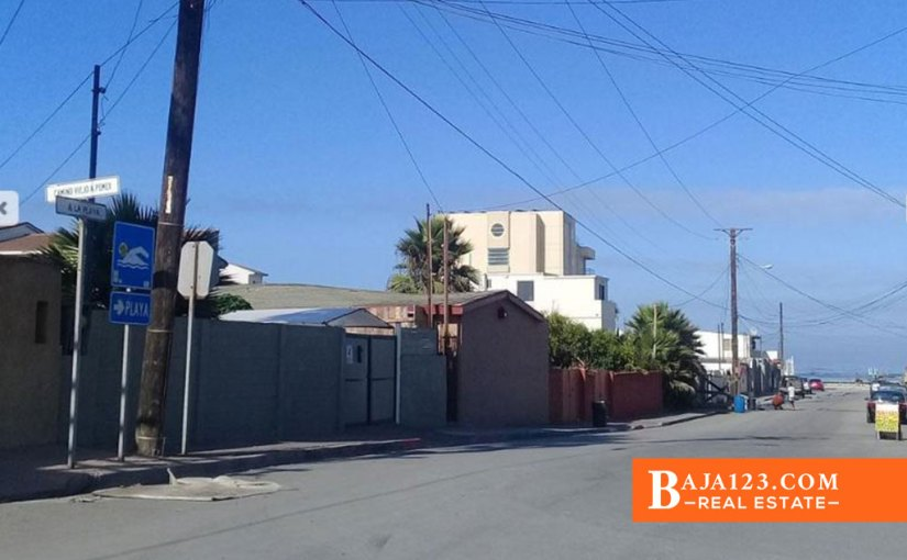 SALE PENDING – Ocean View Lot For Sale in Predios Urbanos de La Costa, Playas de Rosarito – USD $115,000