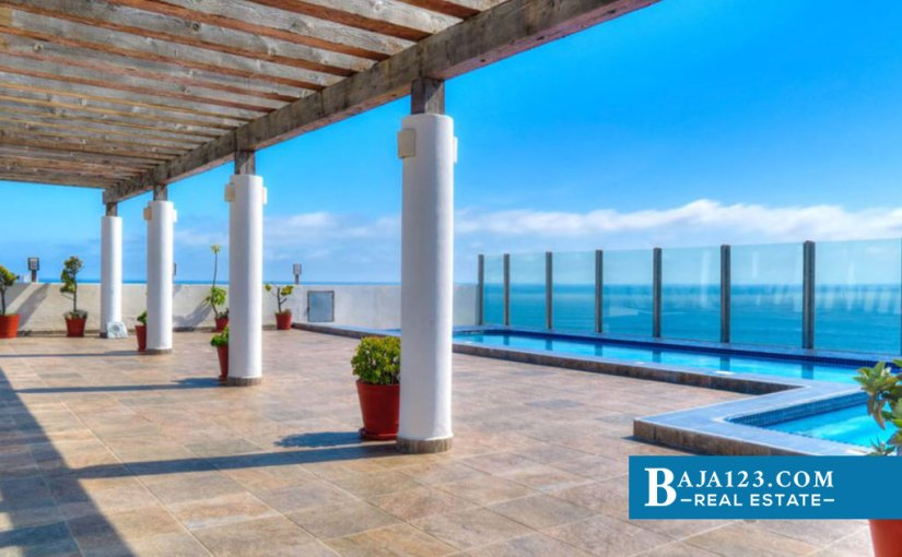 Oceanfront Condo For Sale in Rosarito Beach Condo Hotel, Playas de Rosarito – USD $219,000