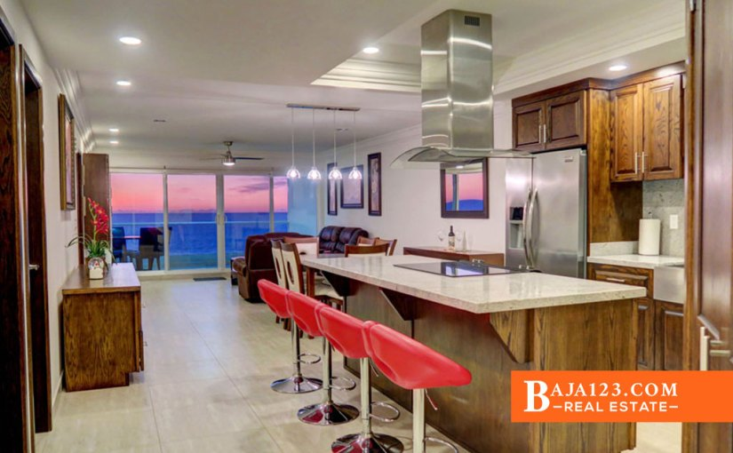 Oceanfront Condo For Sale in La Jolla Excellence, Playas de Rosarito – $334,000
