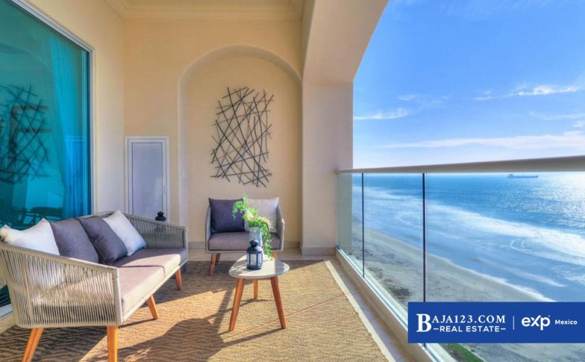 Oceanfront Condo For Sale in Las Olas Mar y Sol, Playas de Rosarito – $195,000 USD