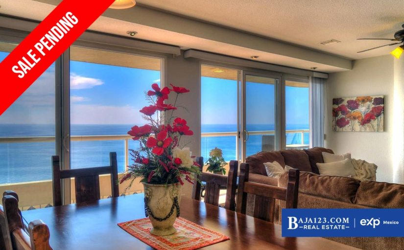 SALE PENDING – Oceanfront Condo For Sale in La Jolla del Mar, Rosarito – $285,000 USD