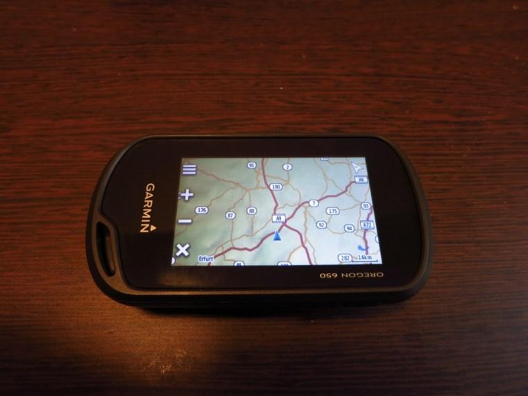 Garmin Orgegon 650 Outdoor GPS Gerät