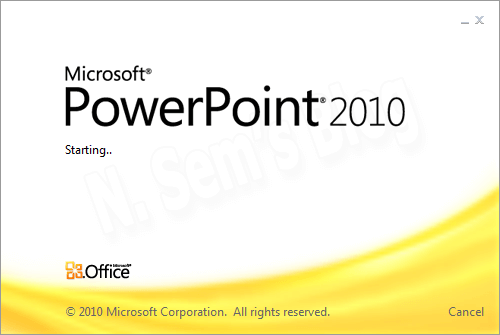 How to insert PowerPoint slides?