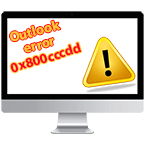 Outlook Error 0x800cccdd