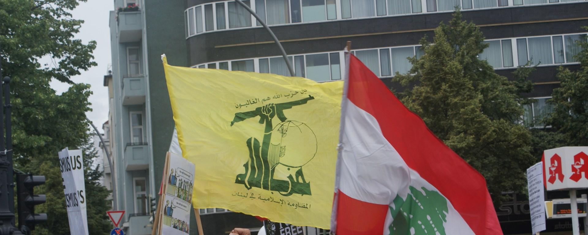 Diese Hezbollah-Flagge