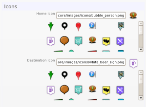 Basic Icon Settings