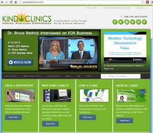 Kind Clinics Website
