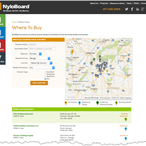 Nyloboard Theme using Experience Package