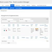 Manage Events i SLP 4.4.19