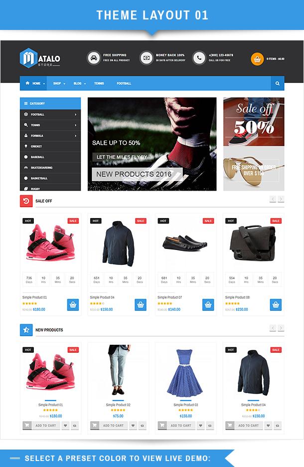 VG Matalo - eCommerce WordPress Theme for Online Store - 7