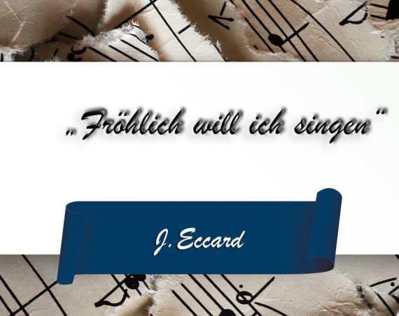 Fröhlich will ich singen