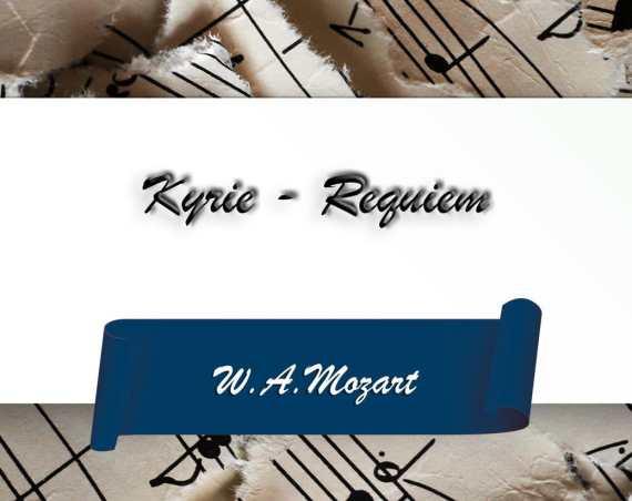 Kyrie, Mozart-Requiem