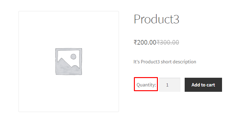 Add Quantity Label in front of Add to Cart Button