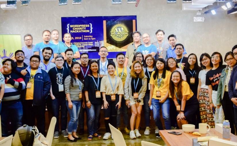 Charity Hackathons: September 2019 Report