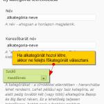 Alkategória létrehozása WordPressben