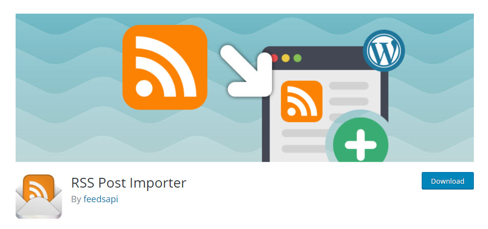 RSS Post Importer Feed Plugin