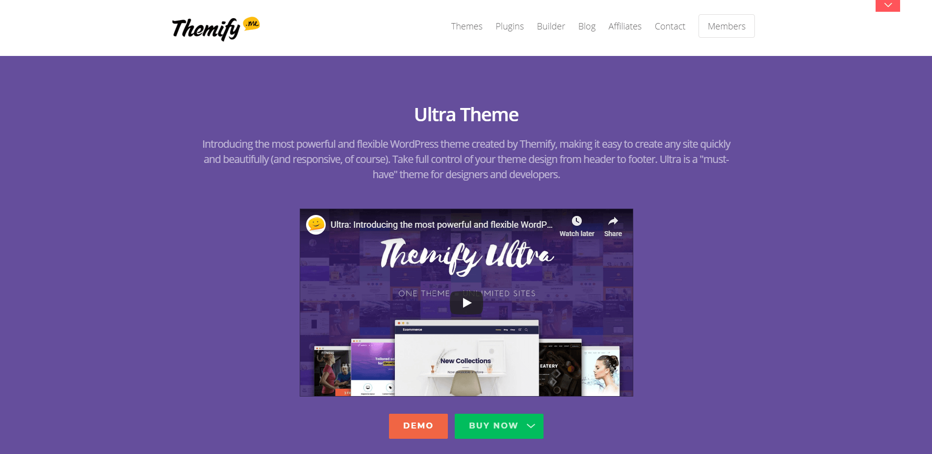 Ultra Themify Ultra WordPresss Themes