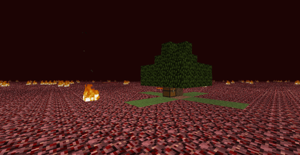 minecraft nether flatland survival map download