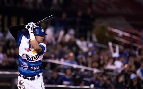 Dariel Álvarez at-bat for Charros de Jalisco