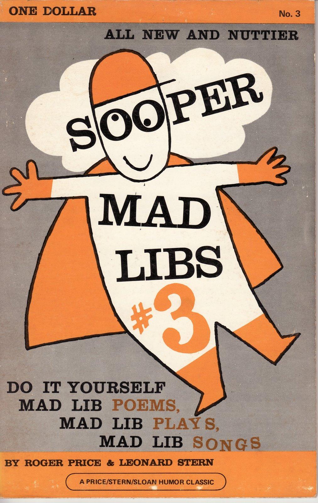 Mad Libs 3