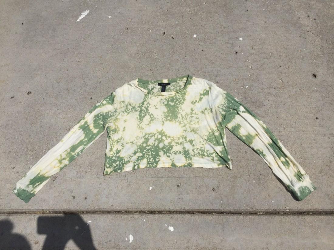 acid washed shirt