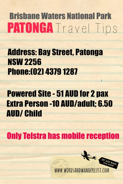 Patonga Travel Tips - Words and Wanderlust