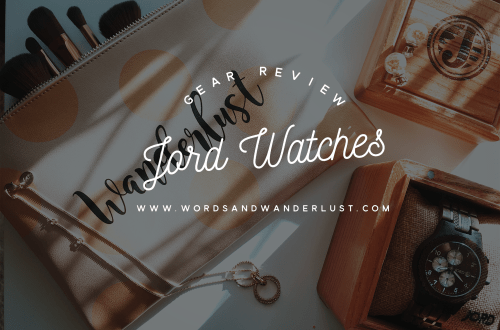 Jord Watch | Words and Wanderlust | Cover