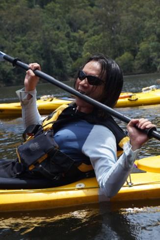 Peter, kayak